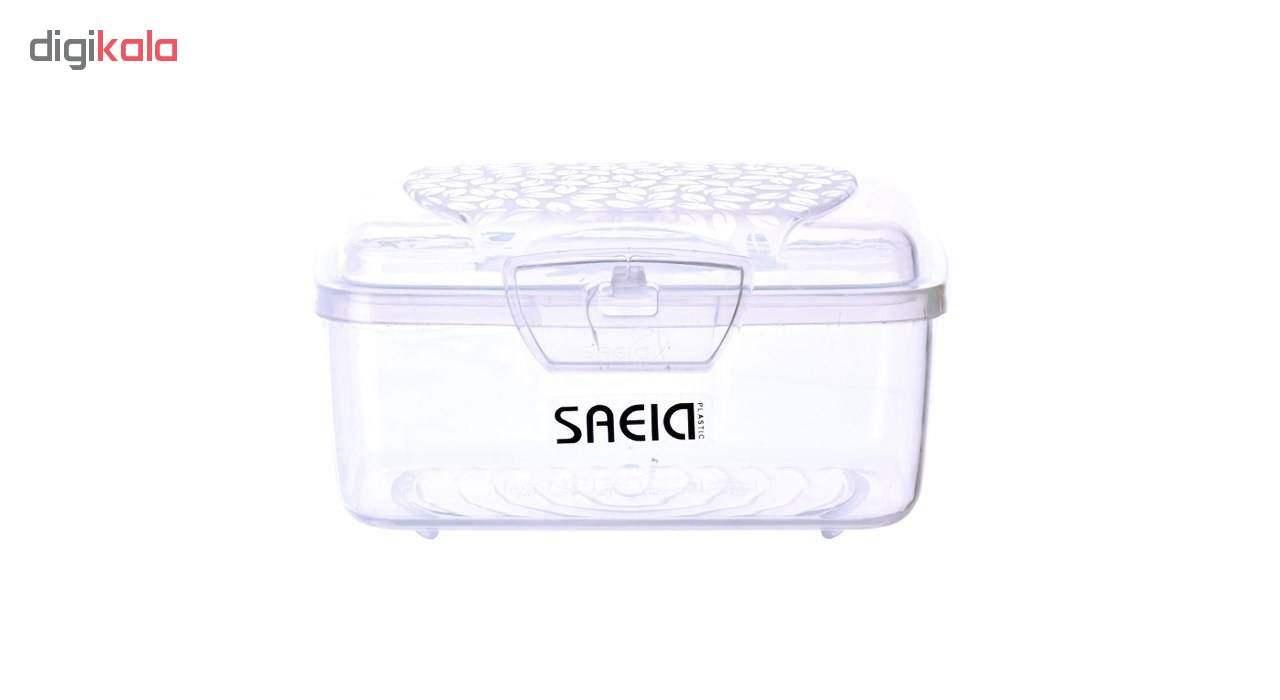 ظرف نگهدارنده سعید پلاستیک طرح برگ بسته 3 عددی main 1 3
