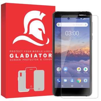محافظ صفحه نمایش گلادیاتور مدل GLN1000 مناسب برای گوشی موبایل نوکیا 3.1