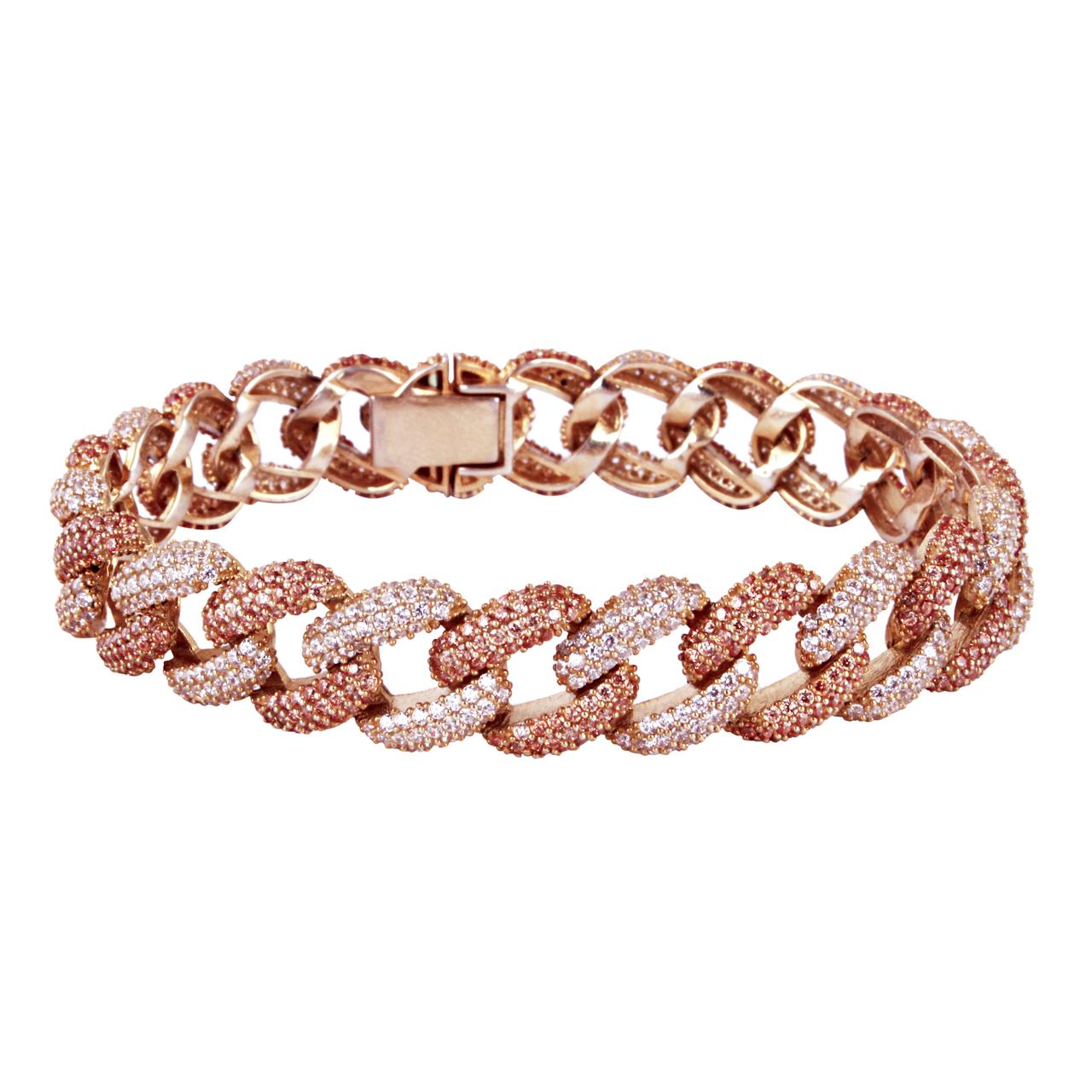 دستبند نقره زنانه مد و کلاس کد MC-379