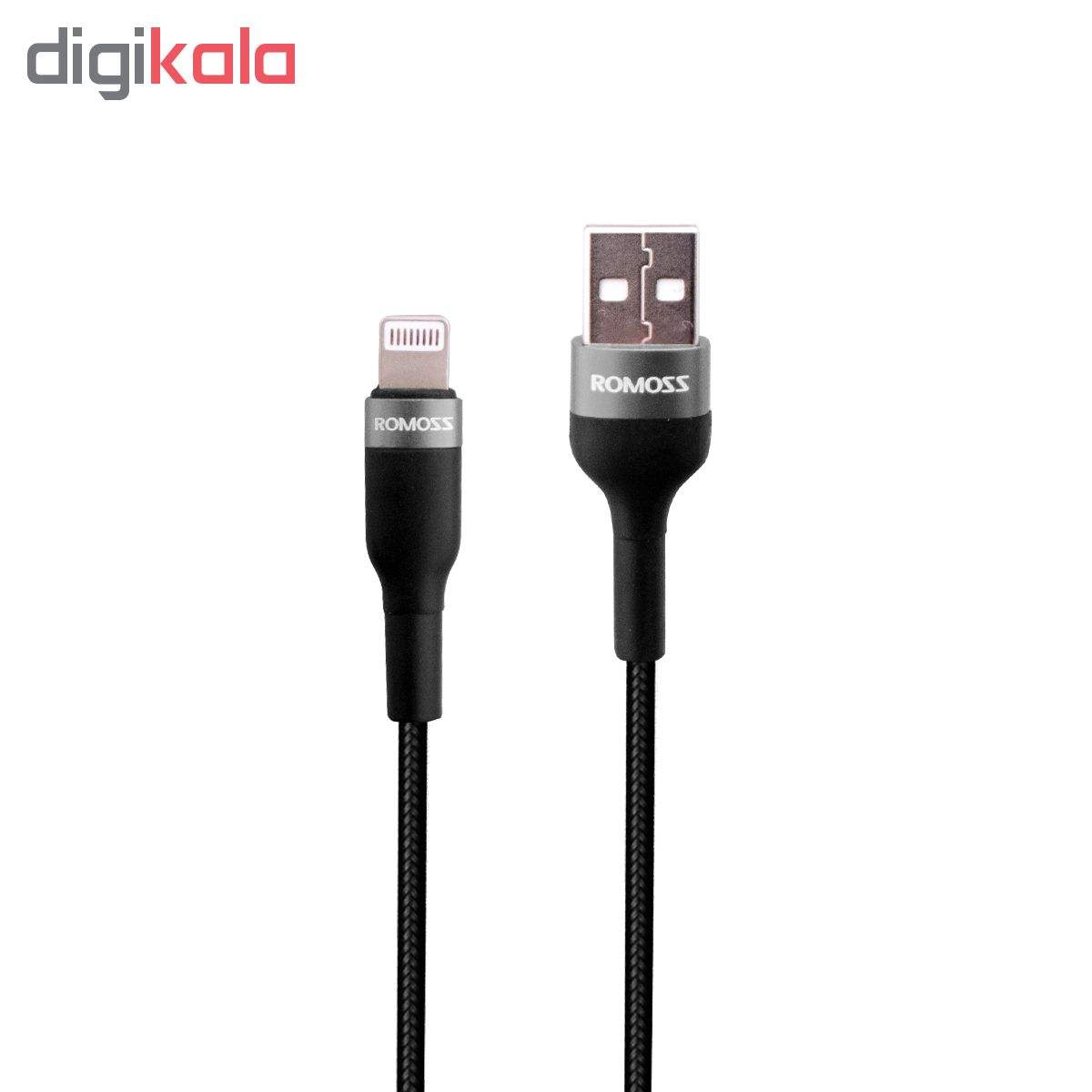 کابل تبدیل USB به لایتنینگ روموس مدل CB12B طول 1 متر main 1 1