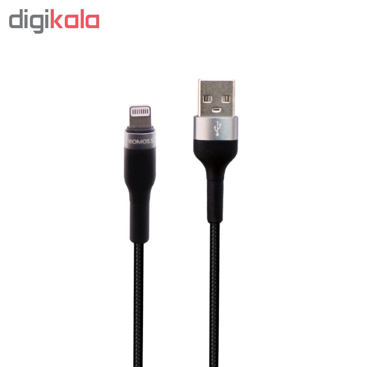 کابل تبدیل USB به لایتنینگ روموس مدل CB12B طول 1 متر main 1 2