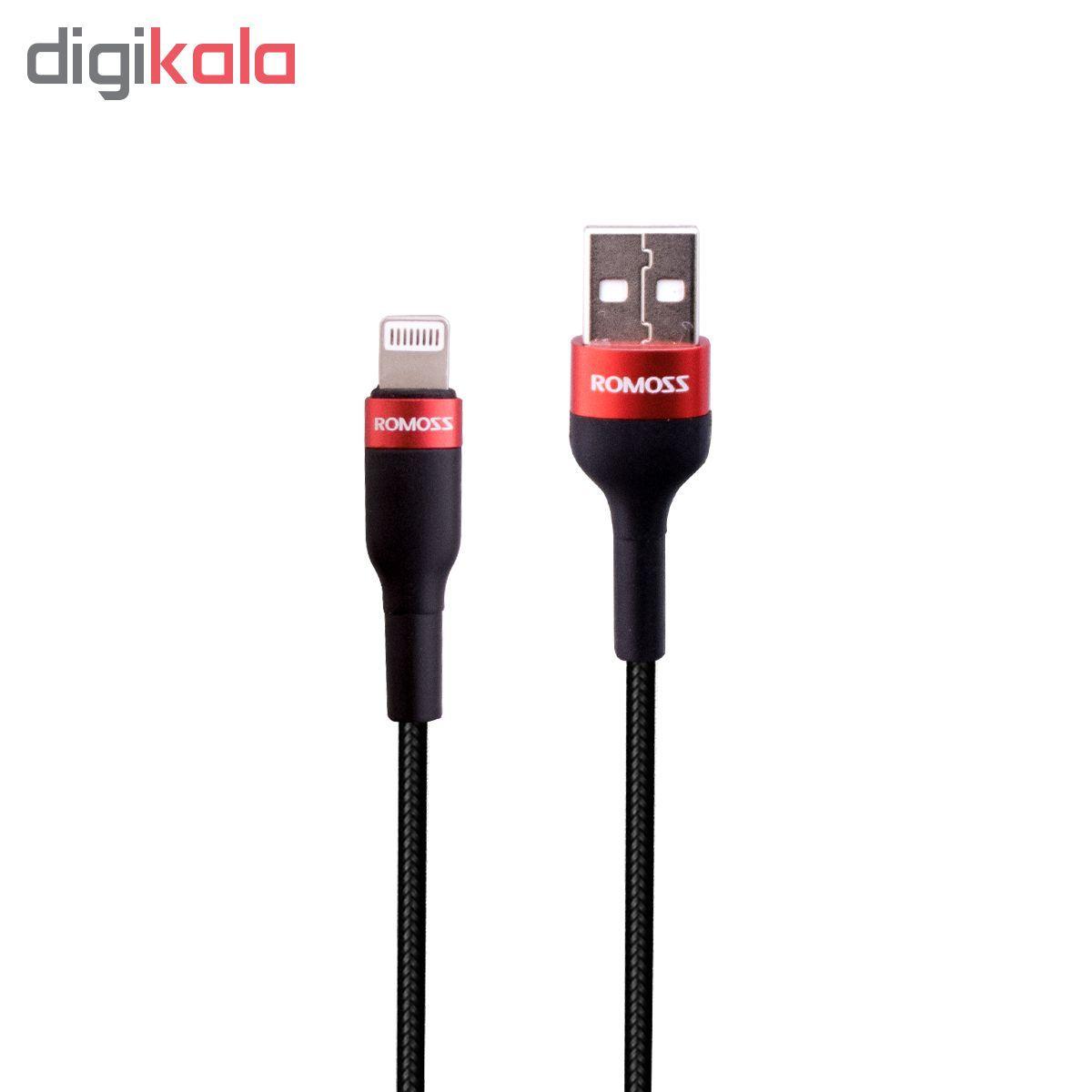 کابل تبدیل USB به لایتنینگ روموس مدل CB12B طول 1 متر main 1 4
