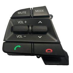 کلید روی فرمان مدل ۲۰۱۶-۲۰۱۷ NR