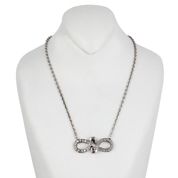 گردنبند نقره زنانه مد و کلاس کد MC-185