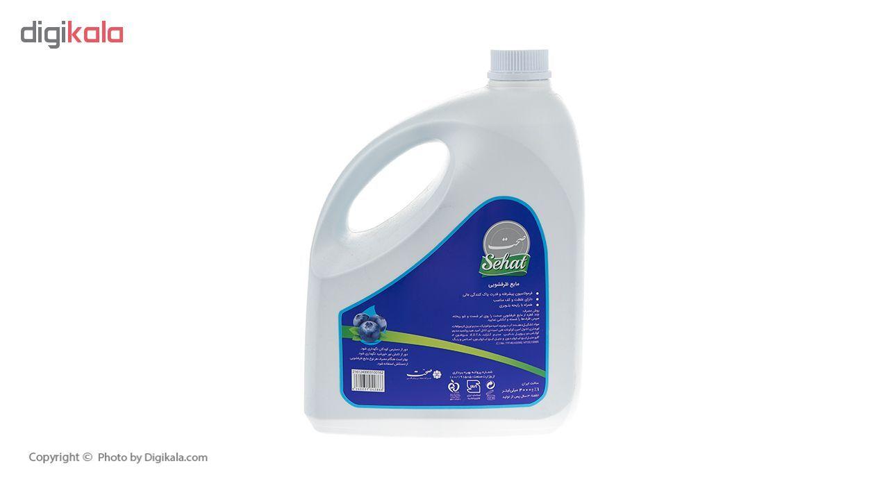 مایع ظرفشویی صحت مدل Blueberry مقدار 4000 گرم main 1 2