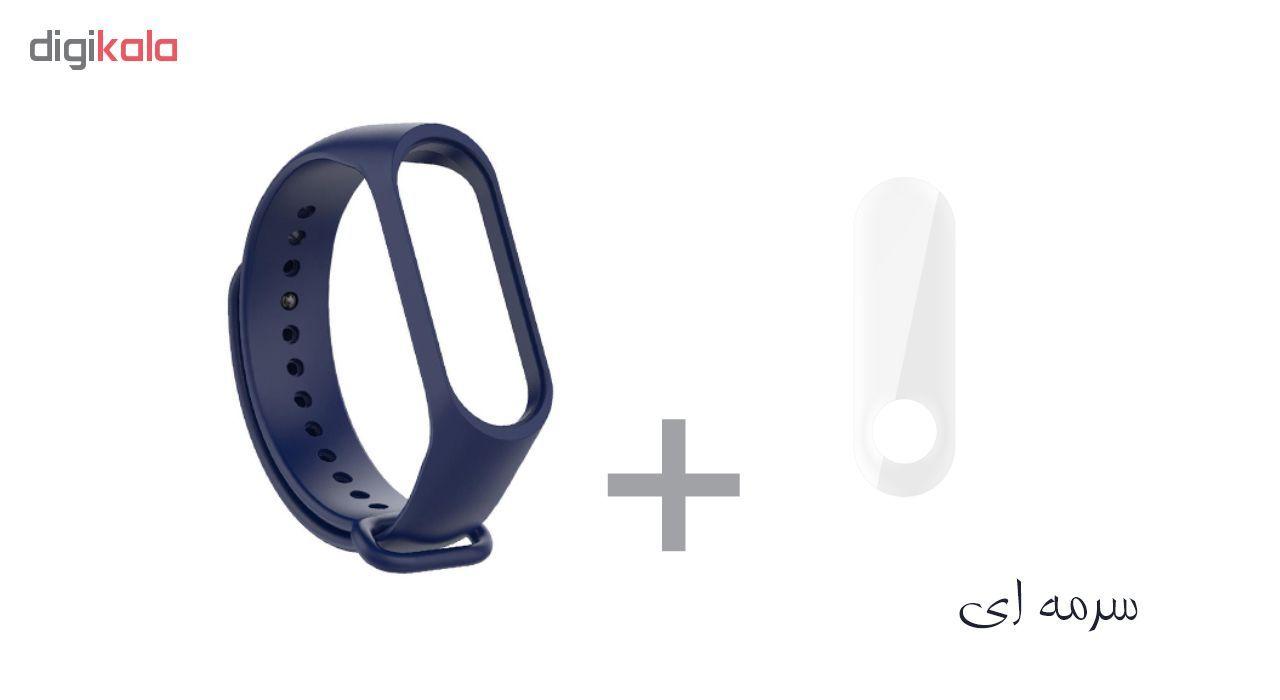 بند سومگ مدل SMG-K2 مناسب برای مچ بند هوشمند شیائومی Mi Band 3 به همراه محافظ صفحه نمایش main 1 2