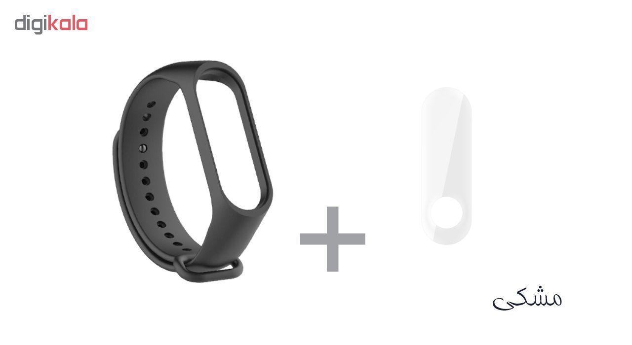 بند سومگ مدل SMG-K2 مناسب برای مچ بند هوشمند شیائومی Mi Band 3 به همراه محافظ صفحه نمایش main 1 3