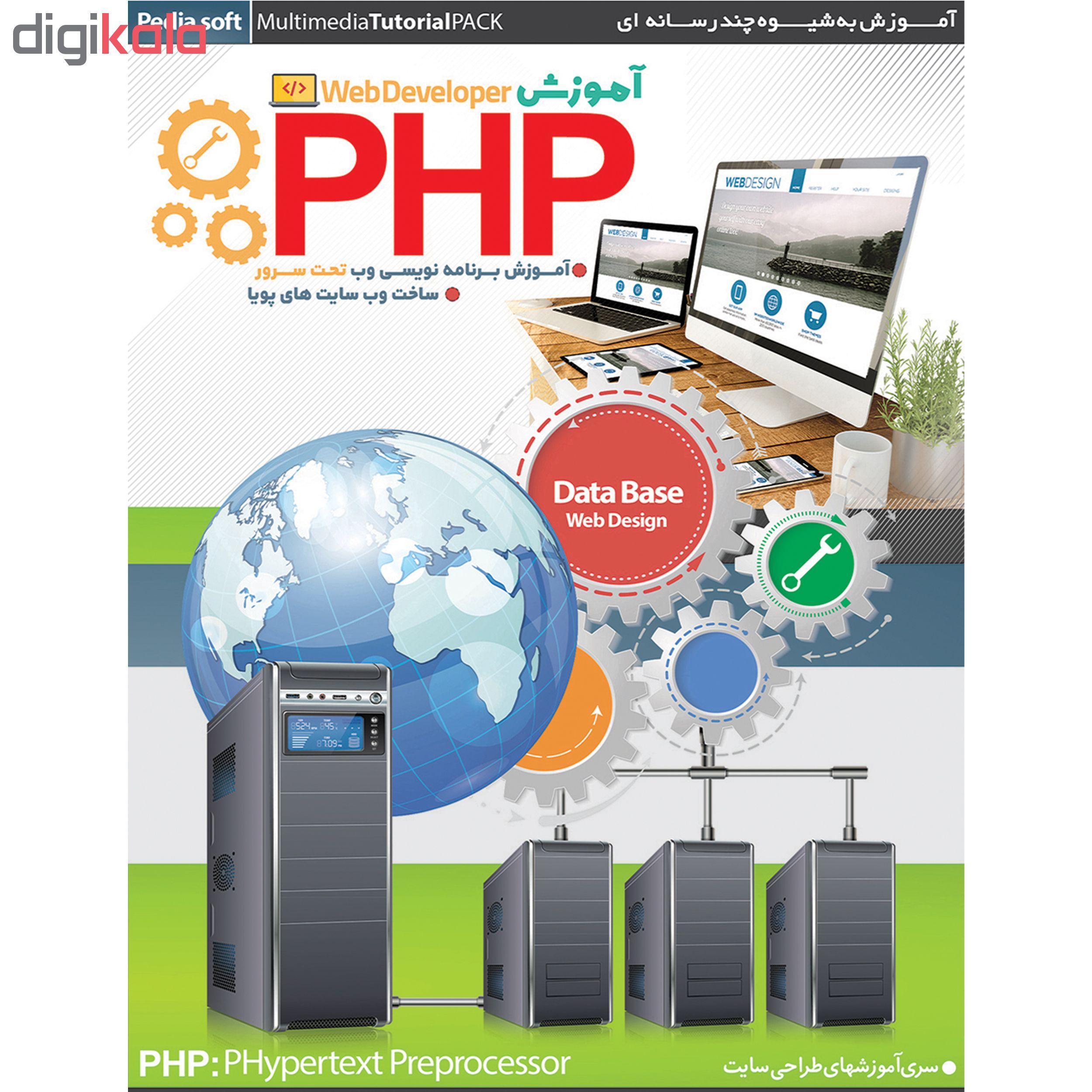 نرم افزار آموزش JAVA نشر پدیده به همراه نرم افزار آموزش PHP نشر پدیا سافت