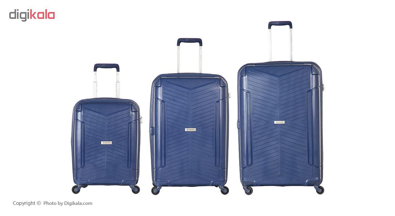 چمدان جیوردانو مدل 1012779 مجموعه 3 عددی