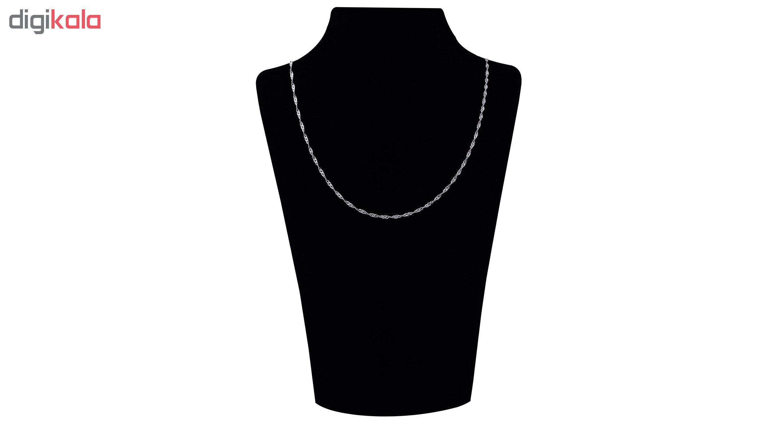 زنجیر نقره زنانه آرگو کد B-40