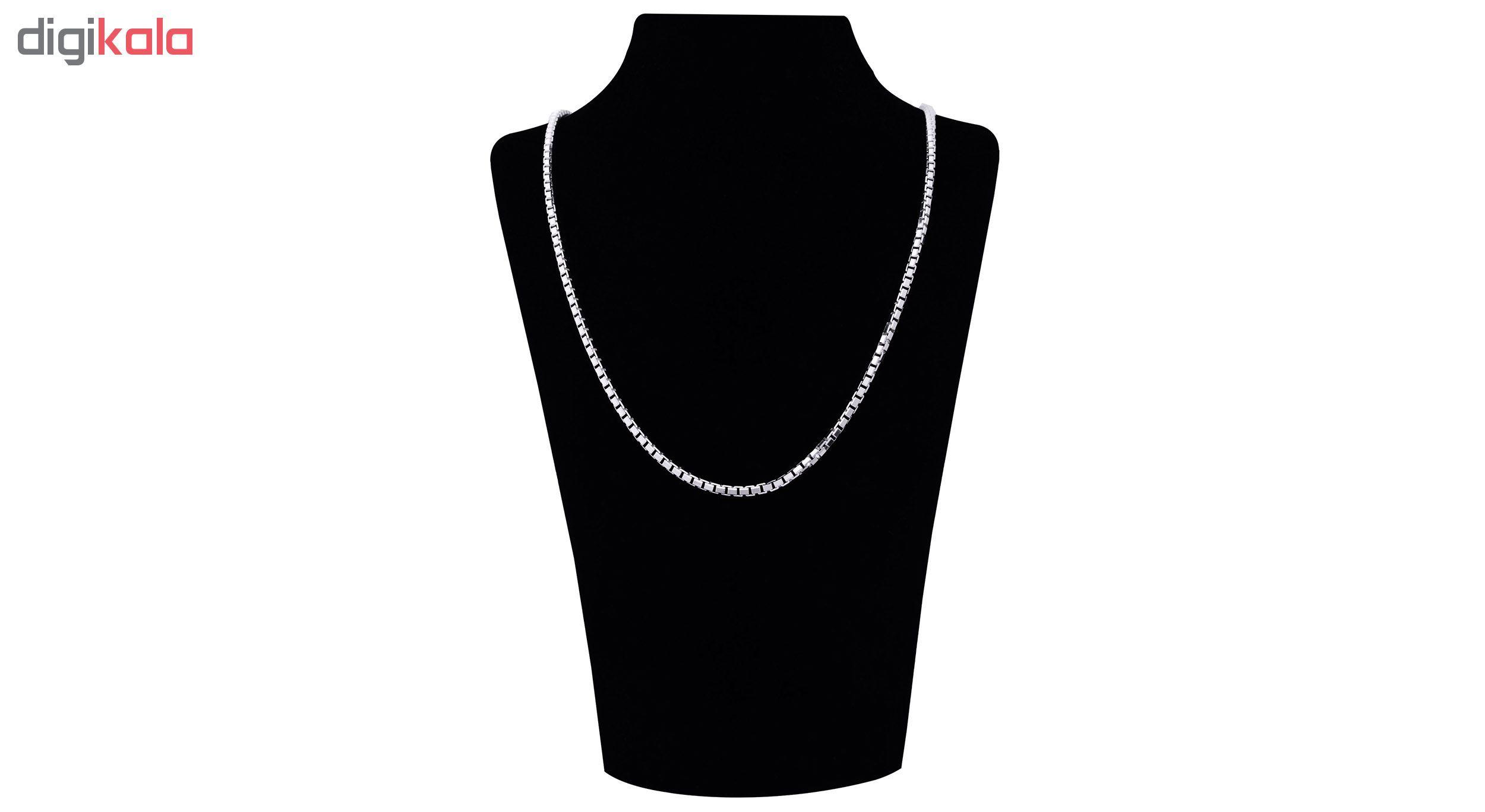 زنجیر نقره زنانه آرگو کد G-5