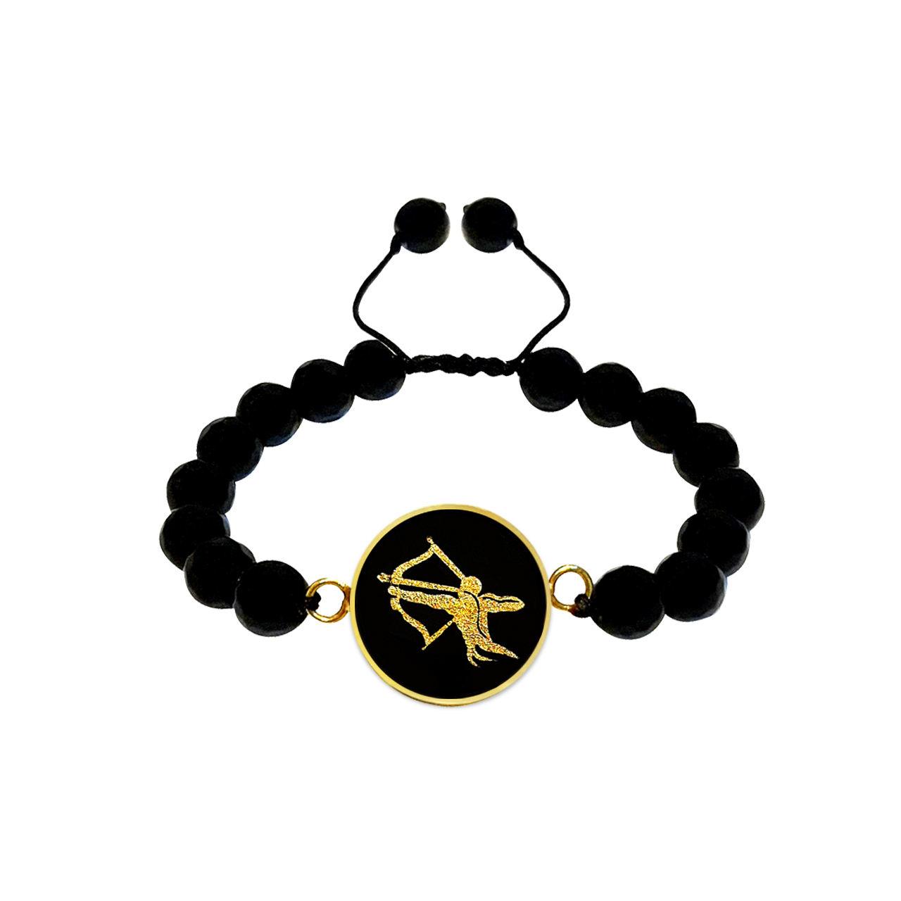 دستبند مارک گلد طرح ماه آذر