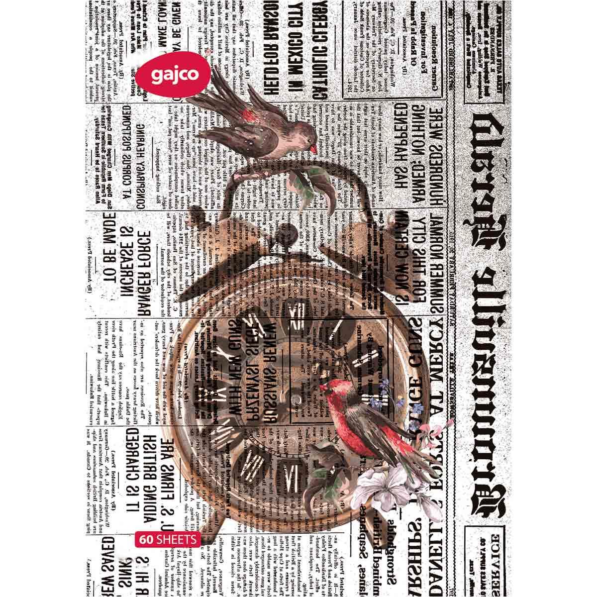 دفتر 60 برگ گاجکو طرح ساعت شماطه دار با رایحه شکلات
