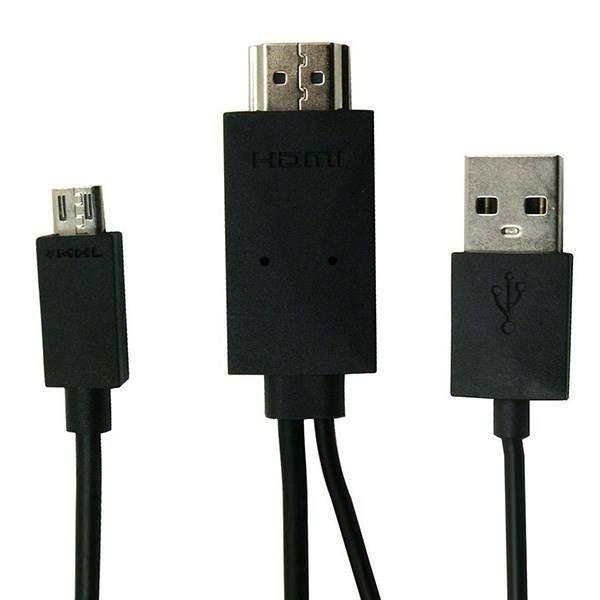 کابل تبدیل MHL به HDMI مدل A-11 طول 1.8متر