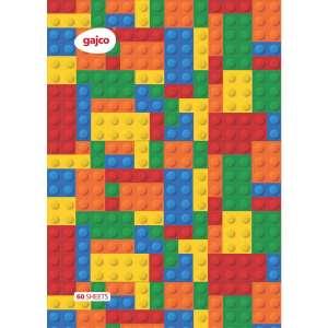 دفتر 60 برگ گاجکو طرح لگو با رایحه شکلات