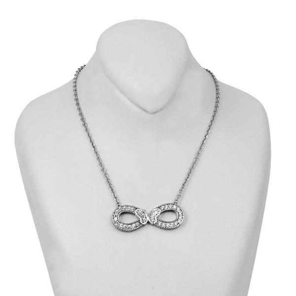 گردنبند نقره زنانه مد و کلاس کد MC-302