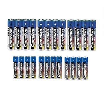 باتری قلمی و نیم قلمی کملیون مدل Super Heavy Duty بسته 24 عددی