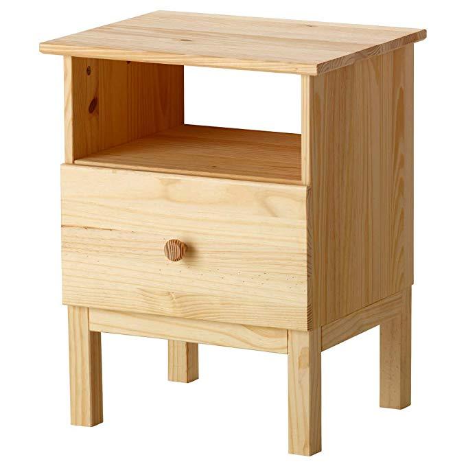 میز عسلی ایکیا مدل TARVA کد ۲۳۰۵۵