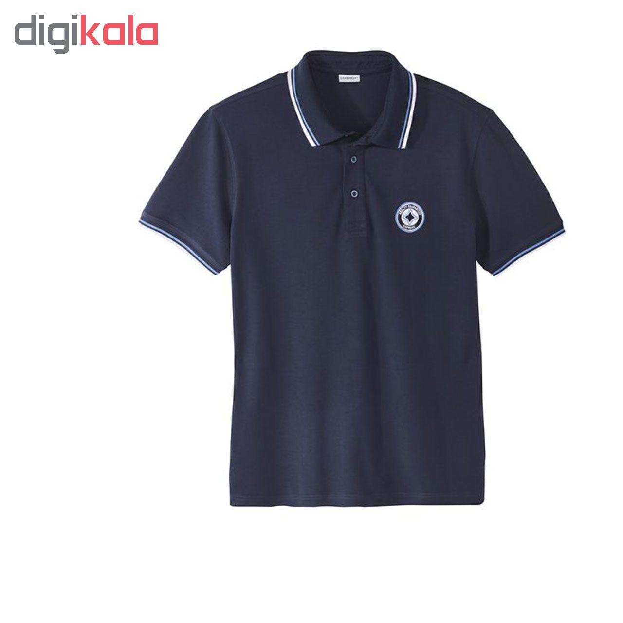 پلو شرت مردانه لیورجی کد PSML78