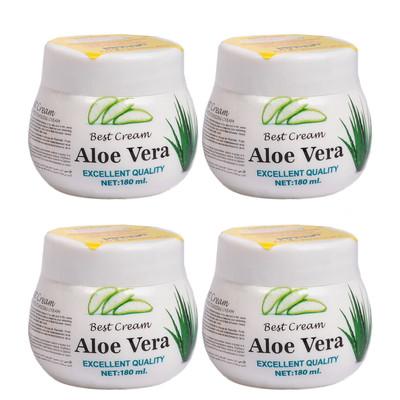 کرم مرطوب کننده اشتنی مدل Aloe Vera حجم 180 میلی لیتر مجموعه 4 عددی
