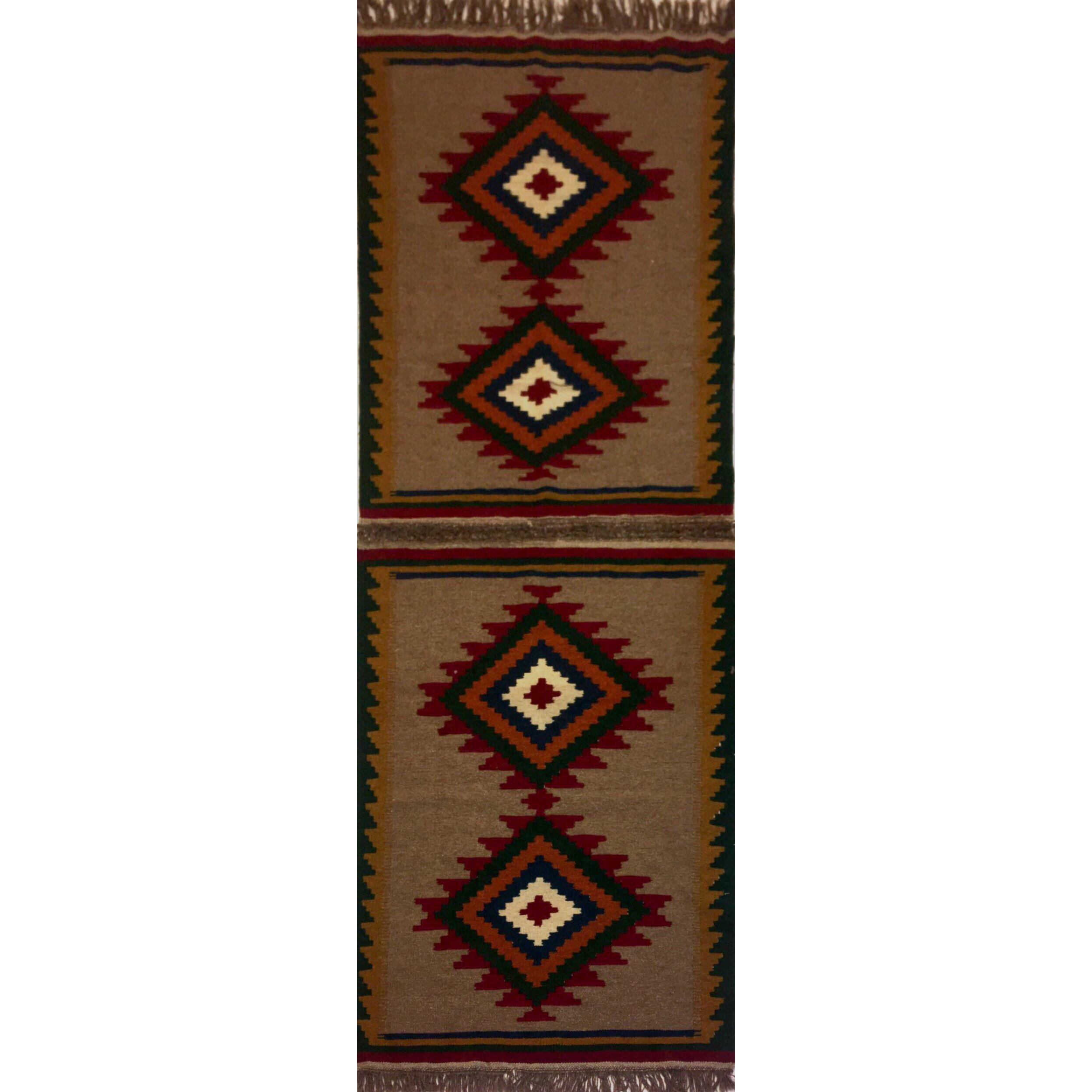 گليم دستباف سه متري کد 0010 يك جفت