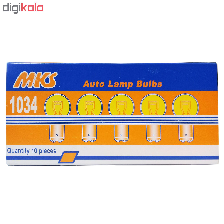 لامپ هالوژن خودرو ام کی اس مدل S25-1034 main 1 2
