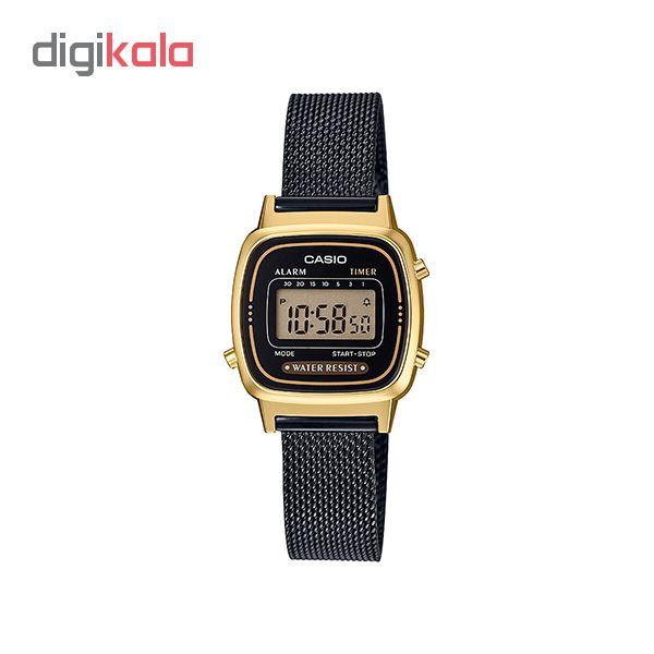ساعت مچی دیجیتال زنانه کاسیو کد LA670WEMB-1D