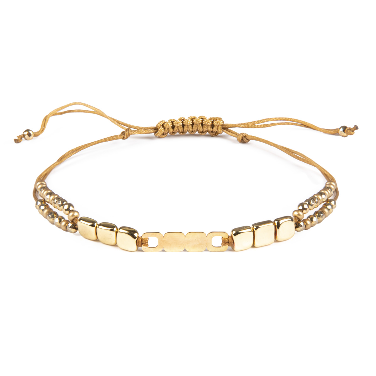 دستبند طلا ۱۸ عیار زنانه ریسه گالری کد Ri3-H1170