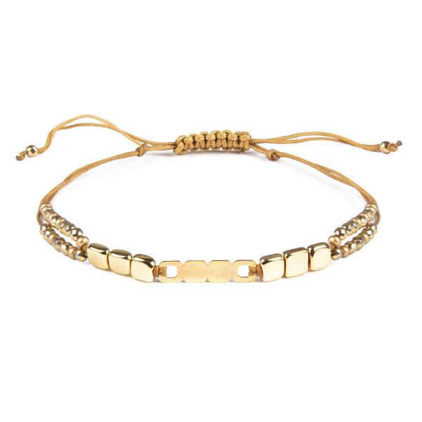 دستبند طلا 18 عیار زنانه ریسه گالری کد Ri3-H1170