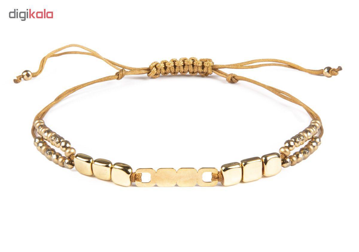 دستبند طلا 18 عیار زنانه ریسه گالری کد Ri3-H1170 main 1 1