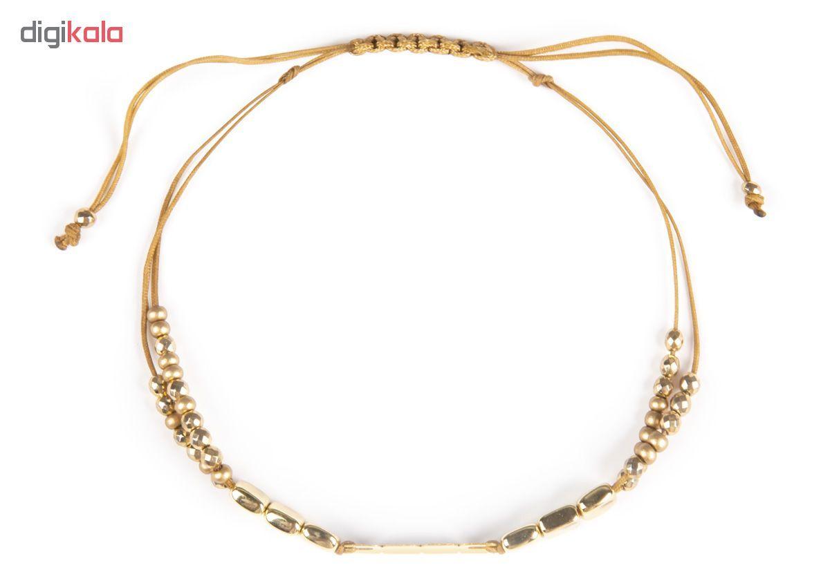 دستبند طلا 18 عیار زنانه ریسه گالری کد Ri3-H1170 main 1 2