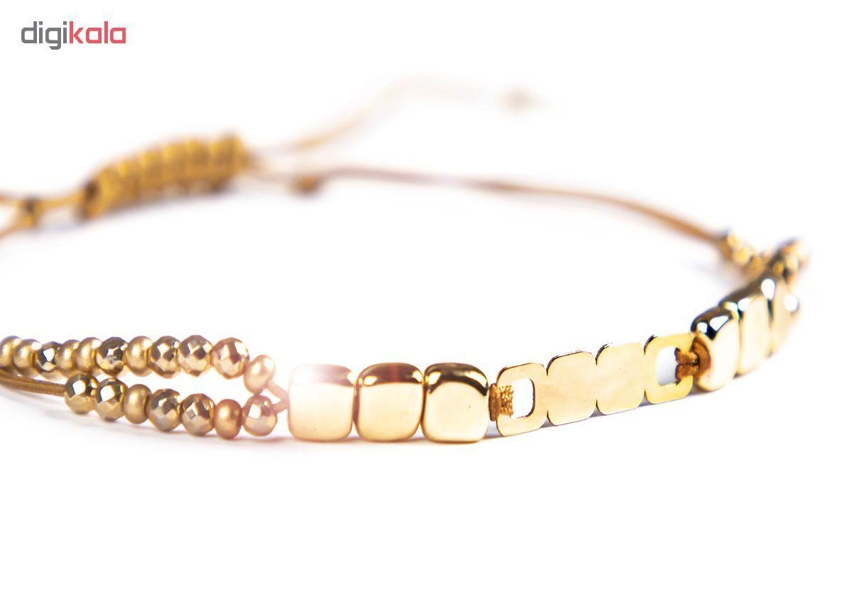 دستبند طلا 18 عیار زنانه ریسه گالری کد Ri3-H1170 main 1 3