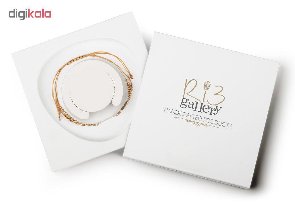 دستبند طلا 18 عیار زنانه ریسه گالری کد Ri3-H1170 main 1 5