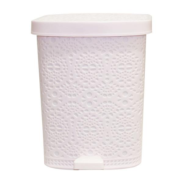 سطل زباله پدالی مدل Cubism کد 01 گنجایش 3 لیتر