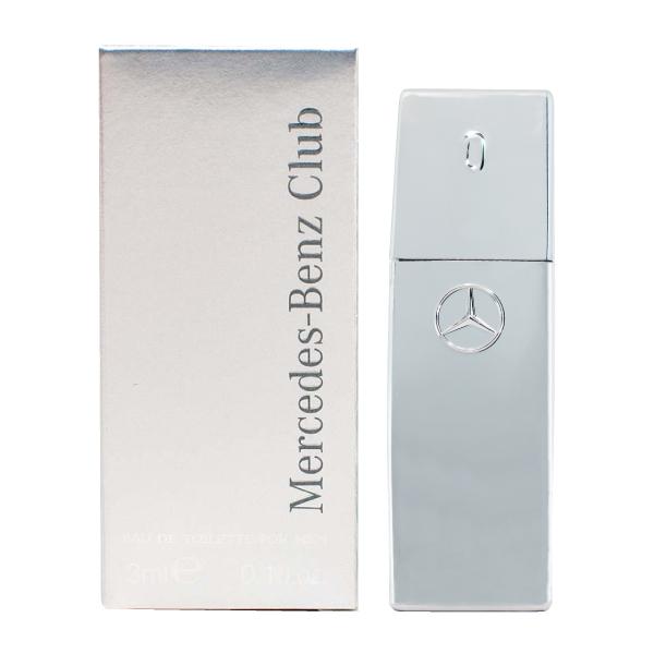 خرید اینترنتی عطر جیبی مردانه مرسدس بنز مدل Mercedes-Benz Club حجم 3 میلی لیتر اورجینال
