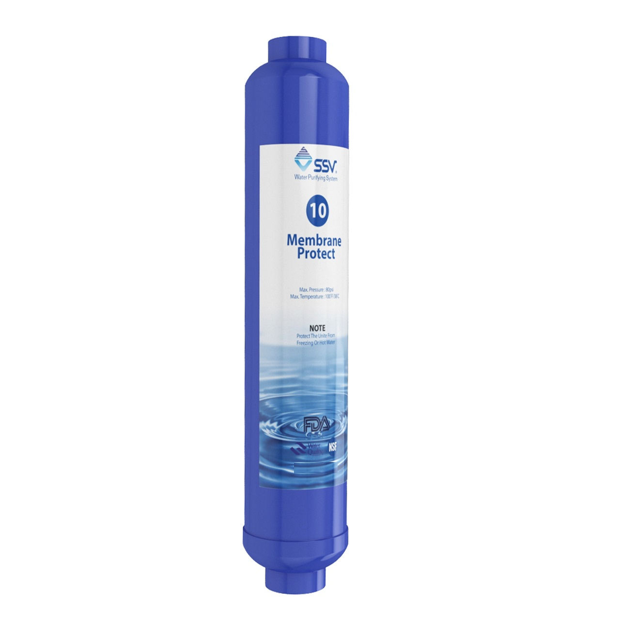 فیلتر دستگاه تصفیه کننده آب اس اس وی مدل Membrane Protect
