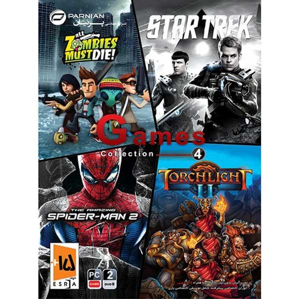 مجموعه بازی Games Collection 4 مخصوص pc