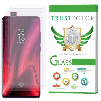 محافظ صفحه نمایش تراستکتور مدل GLS مناسب برای گوشی موبایل شیائومی Redmi K20 بسته 3 عددی