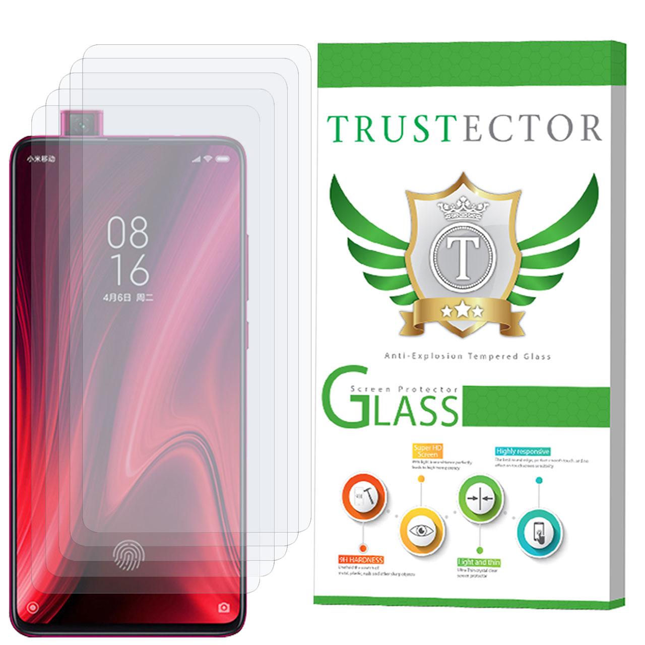 محافظ صفحه نمایش تراستکتور مدل GLS مناسب برای گوشی موبایل شیائومی Redmi K20 Pro بسته 5 عددی