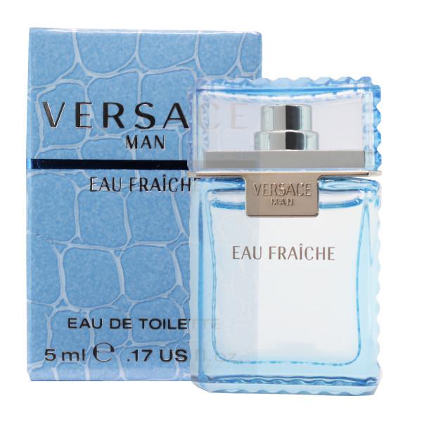 عطر جیبی مردانه ورساچه مدل Versace Man Eau Fraiche حجم 5 میلی لیتر