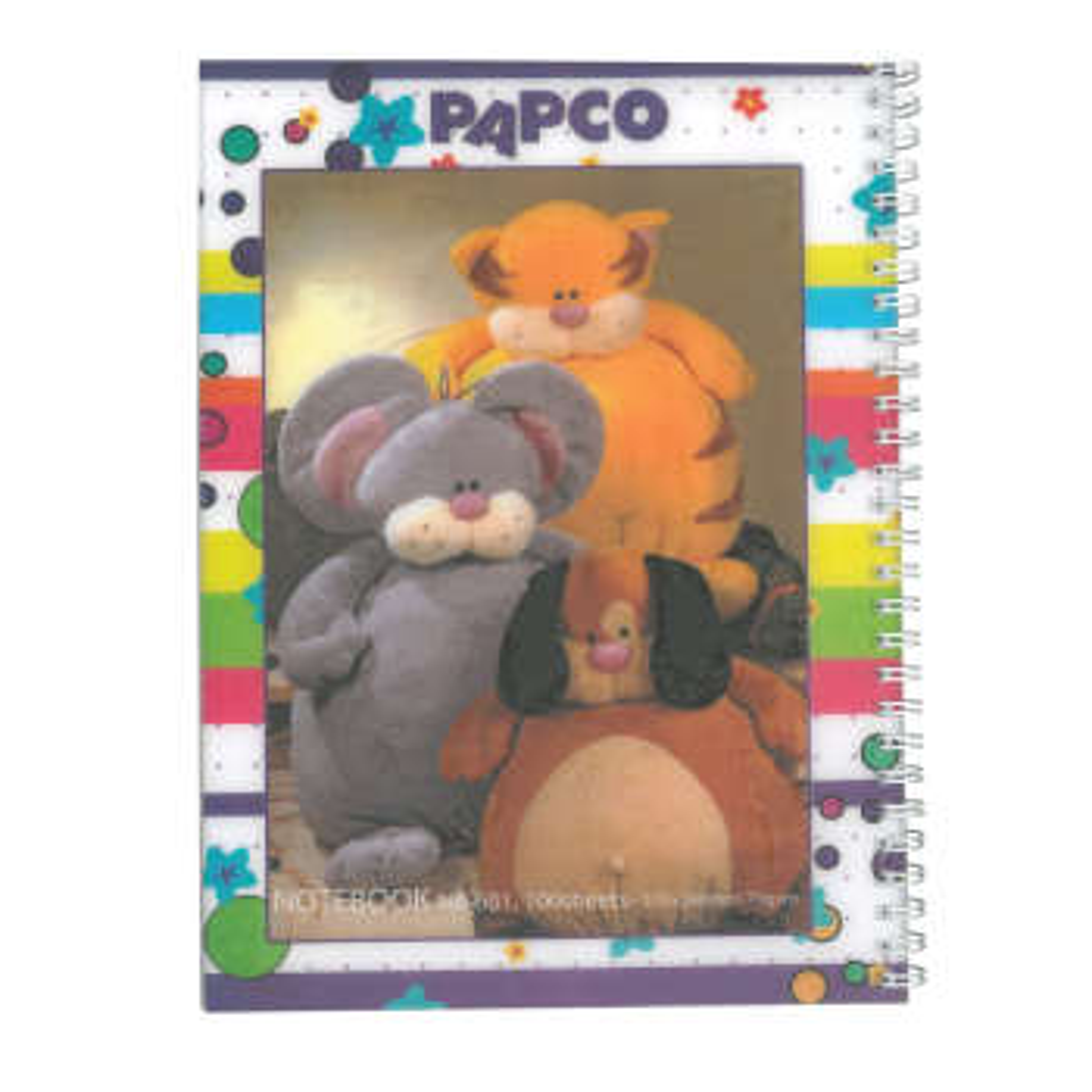 دفتر مشق پاپکو مدل NB-601 کد 324