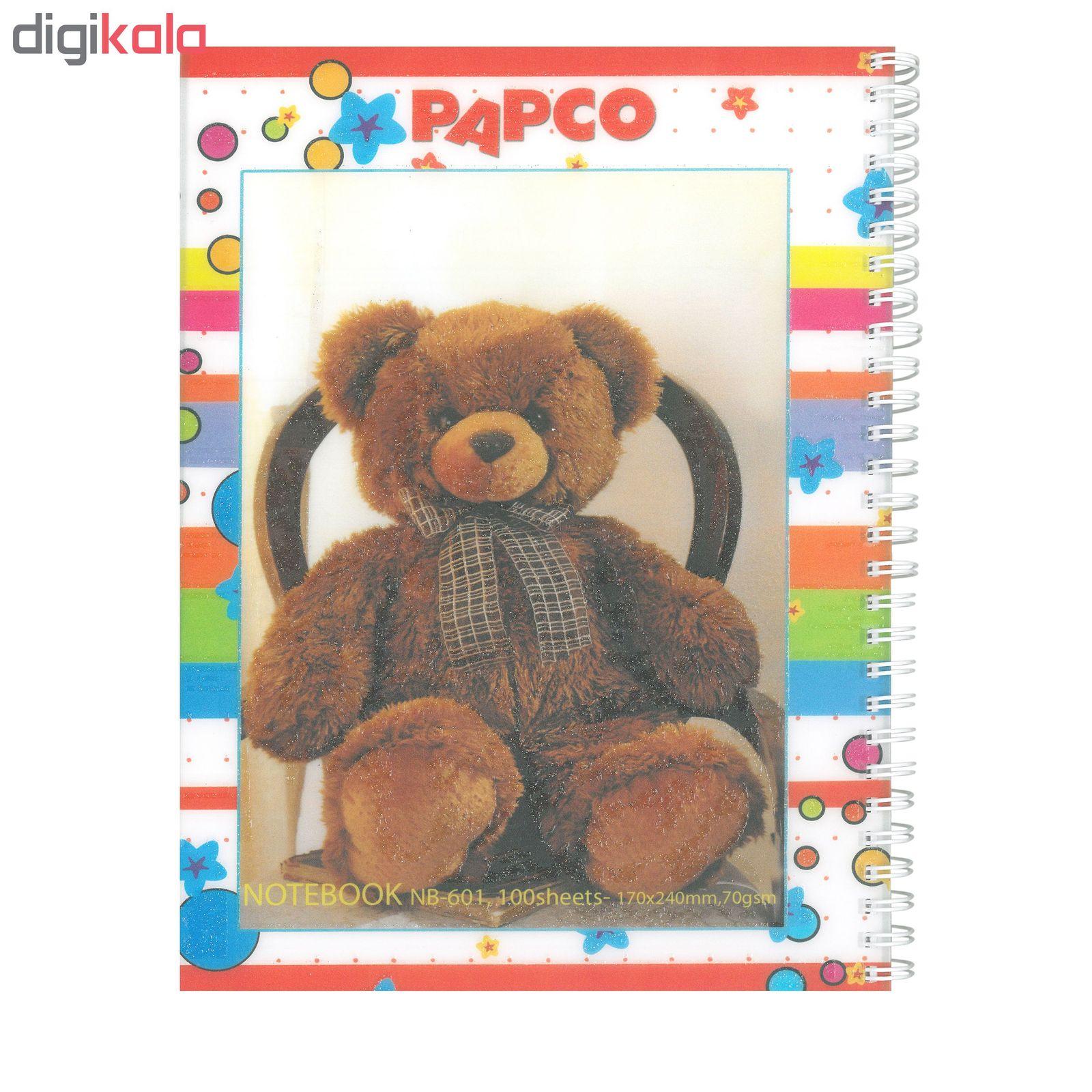دفتر مشق پاپکو مدل NB-601 کد 322 main 1 3