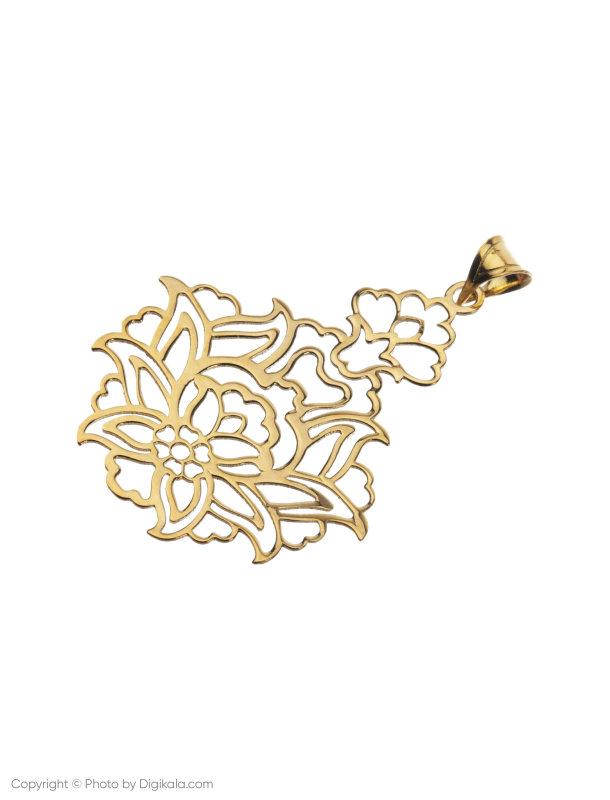 آویز گردنبند طلا 18 عیار زنانه میو گلد مدل N208