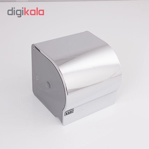 پایه رول دستمال کاغذی کاریز مدل delsa main 1 5