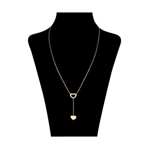 گردنبند طلا 18 عیار زنانه میو استار مدل NC133