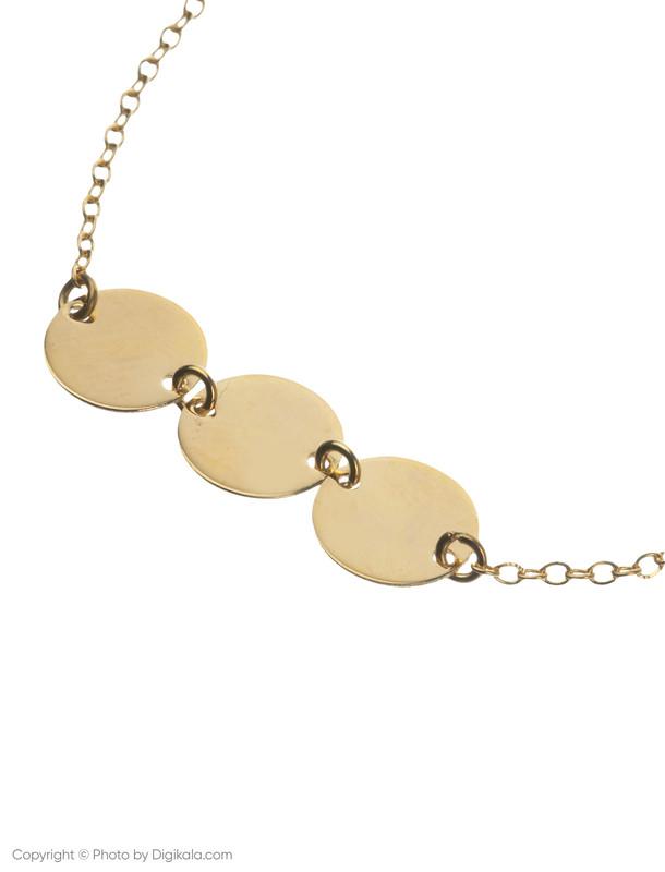 پابند طلا 18 عیار زنانه میو گلد مدل BC71