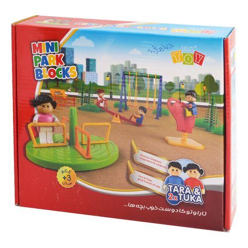 ساختنی تک توی مدل MINI Park Blocks کد 1040
