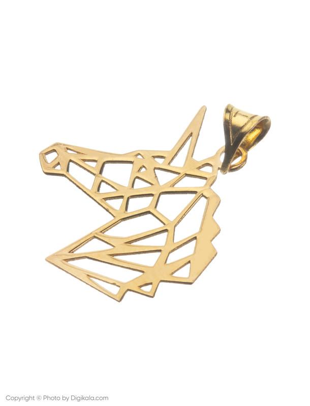 آویز گردنبند طلا 18 عیار زنانه میو گلد مدل N209