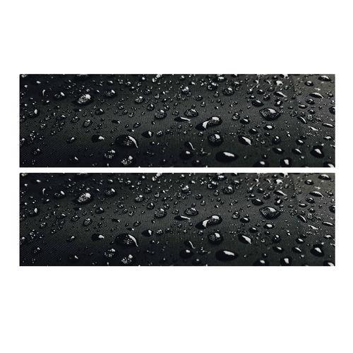 برچسب پا رکابی خودرو طرح قطره آب مدل TIG002 بسته ۲ عددی
