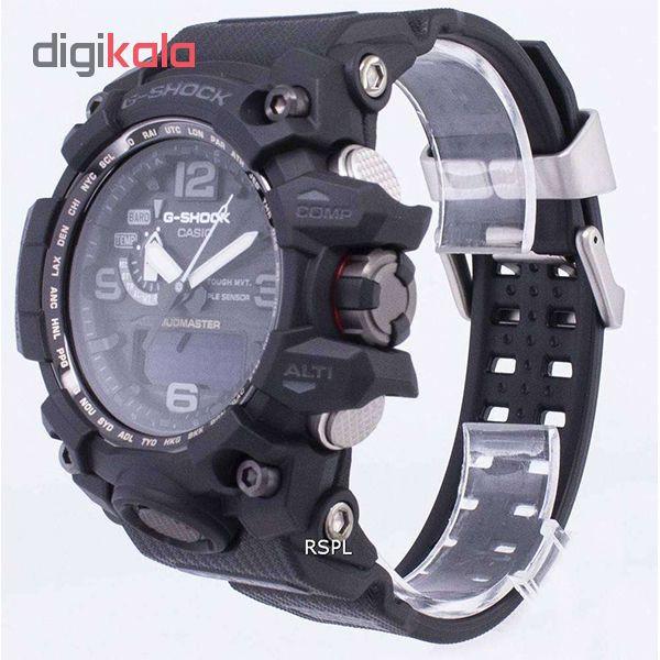 ساعت مچی عقربه ای مردانه کاسیو مدل جی شاک کد GWG-1000-1A1